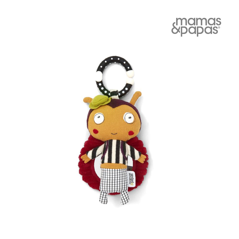 【Mamas & Papas】小隻的紅瓢蟲洛蒂(搖鈴吊飾玩偶)