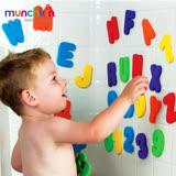 munchkin滿趣健-字母數字洗澡玩具學習組