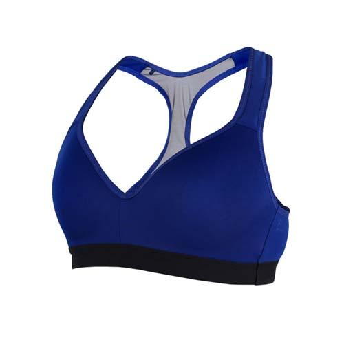 (女) MIZUNO BG 運動內衣-運動背心 健身 訓練 慢跑 路跑 瑜珈 美津濃 藍黑