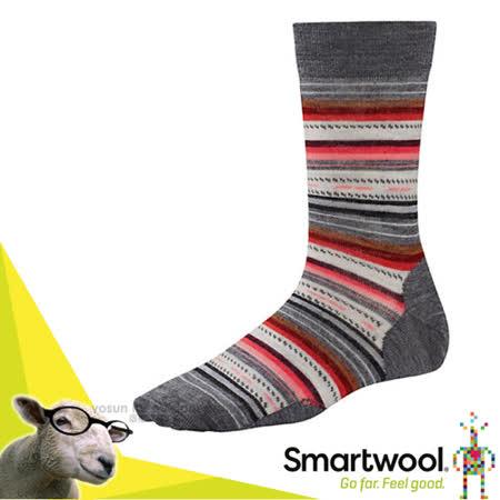 美國 SmartWool 美麗諾羊毛 瑪格麗特紋中長襪(2入)