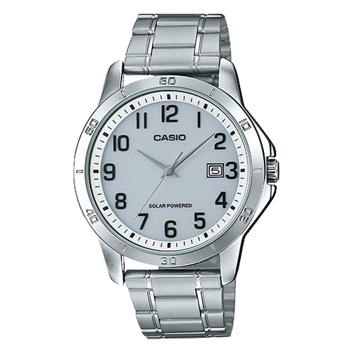 CASIO 卡西歐 男錶 太陽能 不鏽鋼錶帶 MTP-VS02D-7B