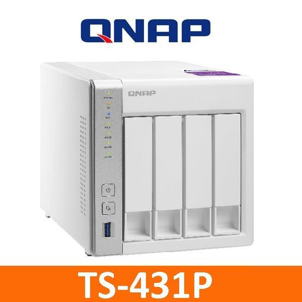 QNAP TS-431P 搭WD紅標2TB X 4