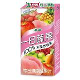 M-波蜜100%水蜜桃蘋果蔬果160ml*6