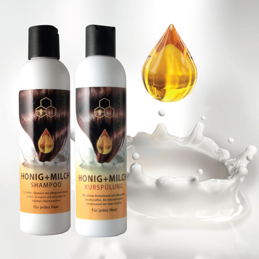 蜂蜜奶蛋白洗髮乳+蜂蜜奶蛋白潤絲組合