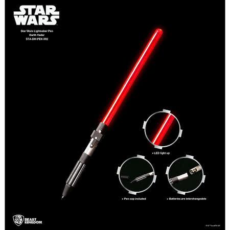 【野獸國】Star Wars 星際大戰 <br>  光劍筆 kylo款