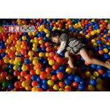 球池球屋遊戲用塑膠彩球台灣製造(500入)