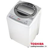【TOSHIBA 東芝】 10公斤節能省水變頻洗衣機 質感銀(AW-DC1150CG)