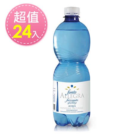 亞莉佳 微氣泡礦泉水 (500ml/24瓶)