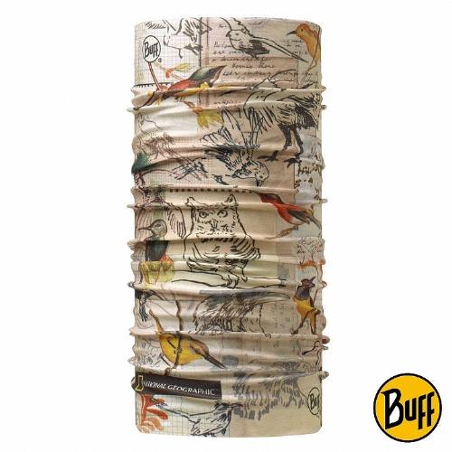 BUFF 鳥類素描 國家地理頭巾