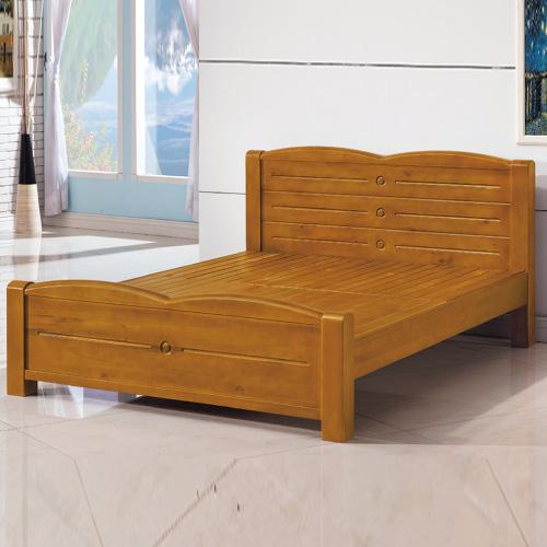 AS-愛曼紐6尺全實木床台-185x206.5x93cm