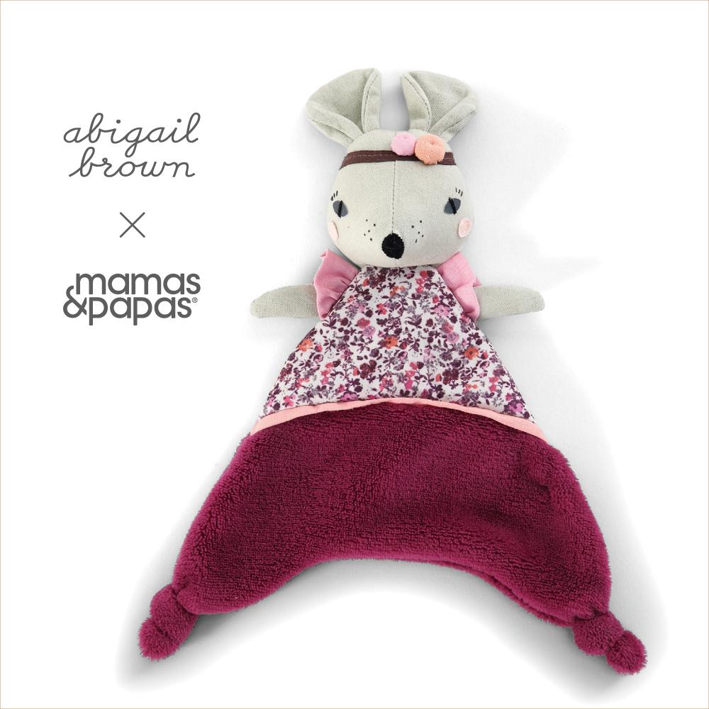 【Mamas & Papas】Abigail Brown 米花鼠(安撫巾)