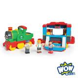 英國【WOW Toys 驚奇玩具】 蒸汽火車 山姆