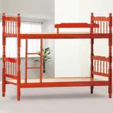 AS-費茲捷勒4尺紅木色雙層床-128x194x164cm
