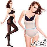 Mollifix 瑪莉菲絲 隱形殺手環繞連體塑身衣 買就送緊緻塑身襪