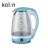 歌林 304不銹鋼1.8L保溫耐熱玻璃快煮壺 KPK-KYR1805G