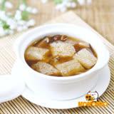 (任選)【極鮮配】竹笙香菇雞湯 (380g±10%/包)