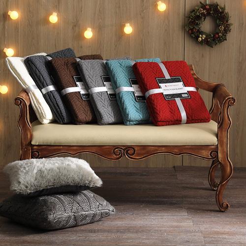 MONTAGUT-針織毛線毯(二入/任選)