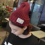 【PS Mall】 韓版素色秋冬毛帽 針織帽 毛線帽 大人小孩通用(G1707)