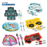 【KIDSFUNWARES】造型兒童餐盤組-多款任選