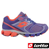 LOTTO 義大利 X-POWER 童動感彈力避震跑鞋(跳躍紫-LT6AKR3767)