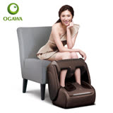 OGAWA 愛膝足 翻轉式護腿機 iKnee Therapy OG-858 咖啡色