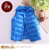 魔法Baby 羽絨背心外套 兒童輕量極保暖90%羽絨外套 k60531