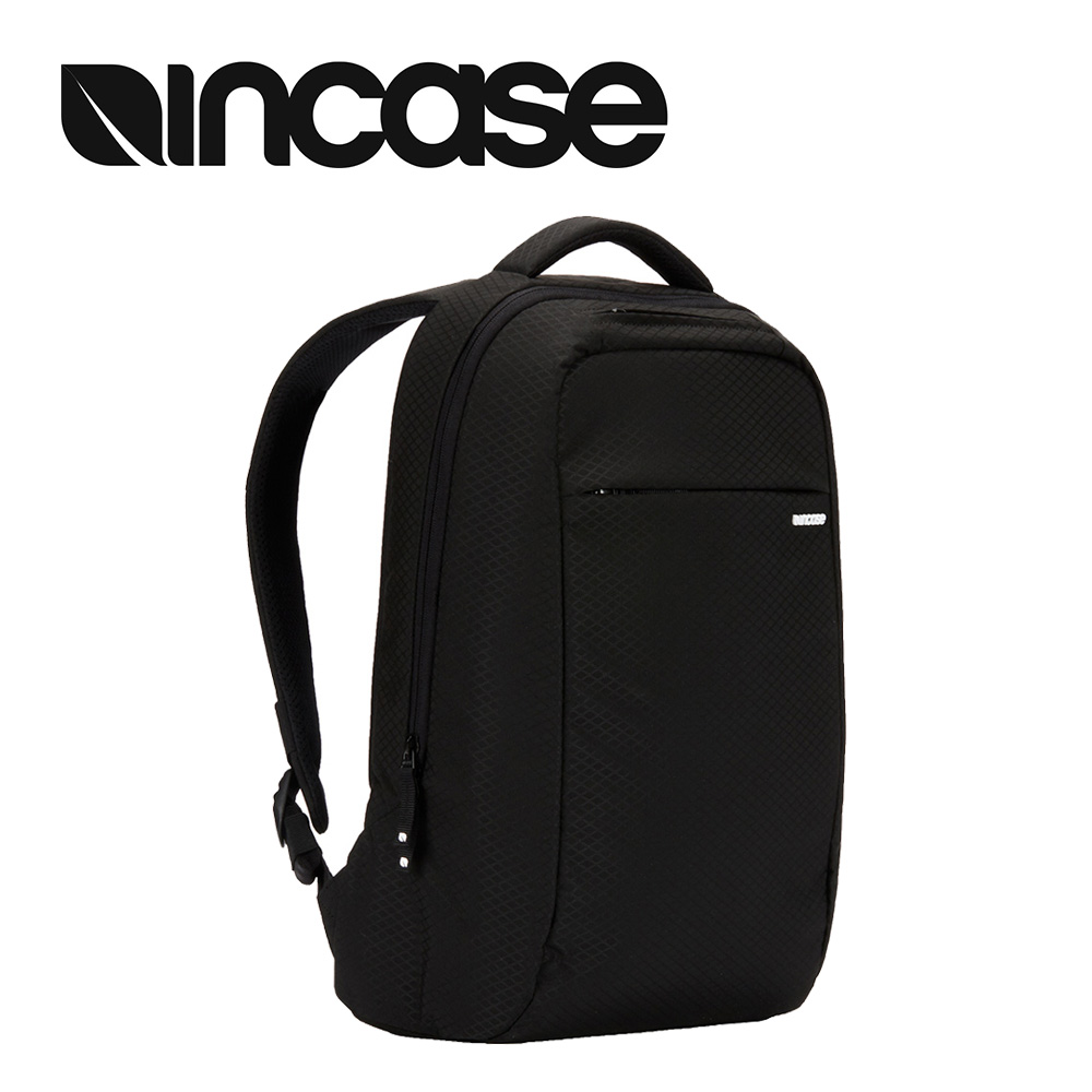 【INCASE】ICON Lite Pack 15吋 鑽石格紋超輕量筆電後背包 (亞洲限定版-格紋黑)