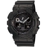 CASIO卡西歐G-SHOCK重型粗獷機械感運動腕錶 GA-100-1A1