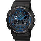 CASIO卡西歐G-SHOCK重型粗獷機械感運動腕錶 GA-100-1A2