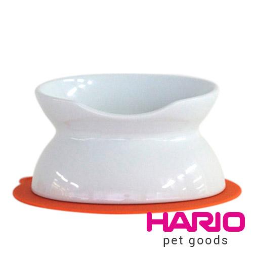 HARIO 貓咪專用白色陶瓷碗  PTS-NYD-W