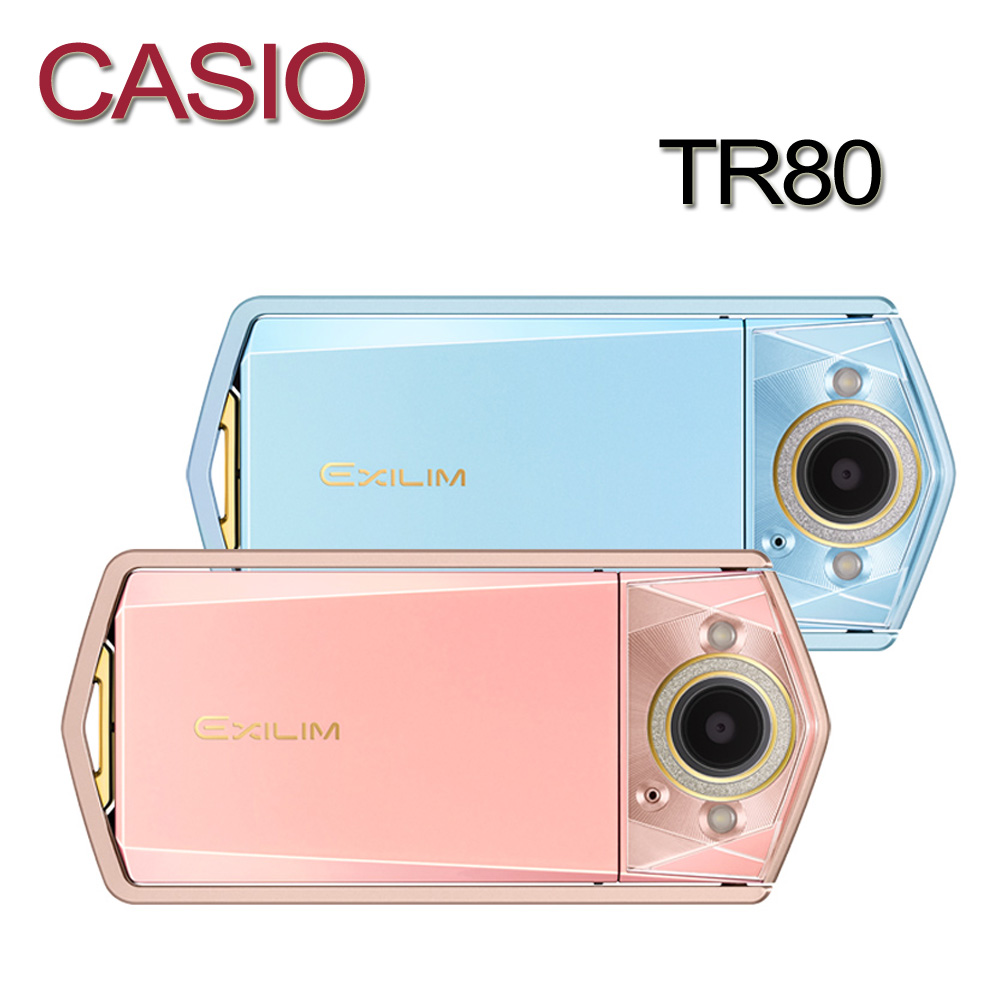 CASIO卡西歐TR80 自拍神器 數位相機