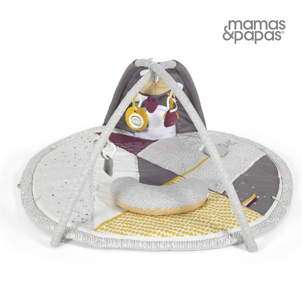 【Mamas & Papas】太空漫步(聲光遊戲健力墊)