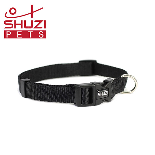 SHUZI™ 愛犬守護項圈 黑 - 美國製造