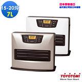 【日本 TOYOTOMI】7L煤油電暖爐 L53TWS3(銀色)