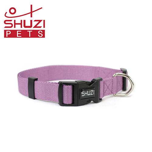 SHUZI™ 愛犬守護項圈 紫- 美國製造