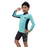 ≡MARIUM≡ 兒童半身水母衣-淺綠 MAR-3802