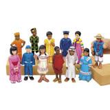 【華森葳兒童教玩具】建構積木系列-各國民族偶 N8-EE552
