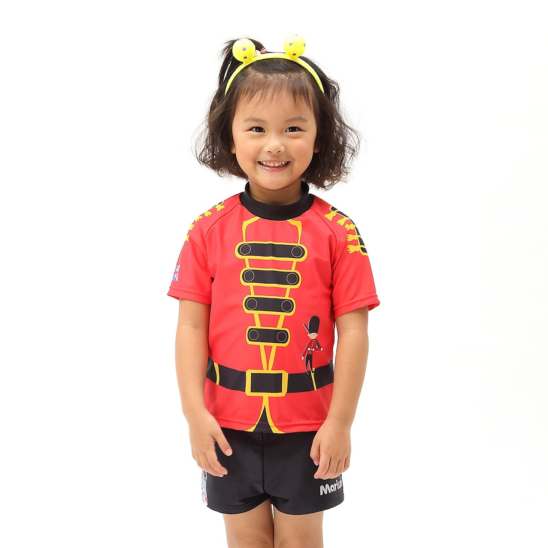 ≡MARIUM≡ 兒童兩件式短袖水母衣 MAR~7816 ~可愛小士兵~