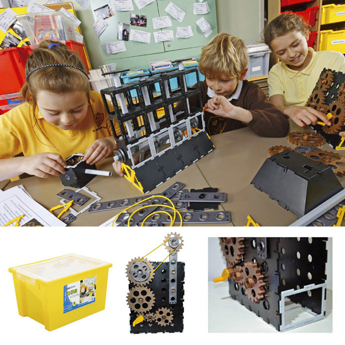 【華森葳兒童教玩具】建構積木系列-工程引擎組 N9-10-9010