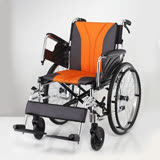 均佳 鋁合金輪椅 (JW-160) 多功能型 雙剎車設計