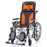 均佳 鋁合金躺式輪椅 (JW-020) 適合中風及長期臥床者使用
