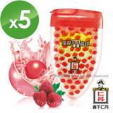 純點數兌換【森下仁丹】魔酷雙晶球-果香覆盆莓(5盒)