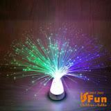 【iSFun】綻放滿天星*光纖煙火寶石塔夜燈