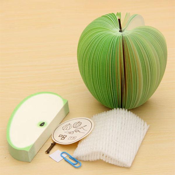 【PS Mall】可愛立體水果造型便條紙 便利貼 N次貼 便籤 留言紙 2入 (J651)
