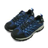 【男】GOOD YEAR 專業多功能郊山戶外鞋 waterproof 藍黑灰 73506