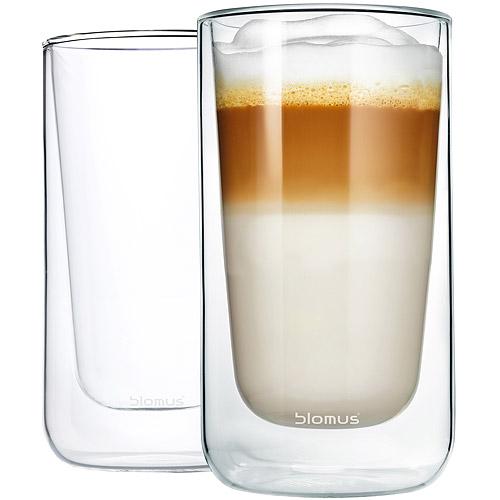 《BLOMUS》Nero雙層玻璃杯2入(320ml)