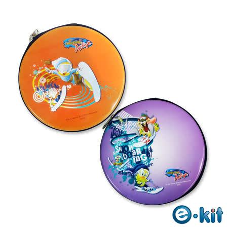 (十組入)華納卡通正版授權 CD/DVD 24片裝收納包 – 滑雪運動風 _CD-RAR03