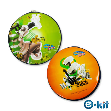 (五組入)華納卡通正版授權 CD/DVD 24片裝收納包 – 街頭Hit Pop風 _CD-RAR01