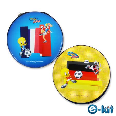 (十五組入)華納卡通正版授權 CD/DVD 24片裝收納包 – 足球運動風 _CD-RAR02