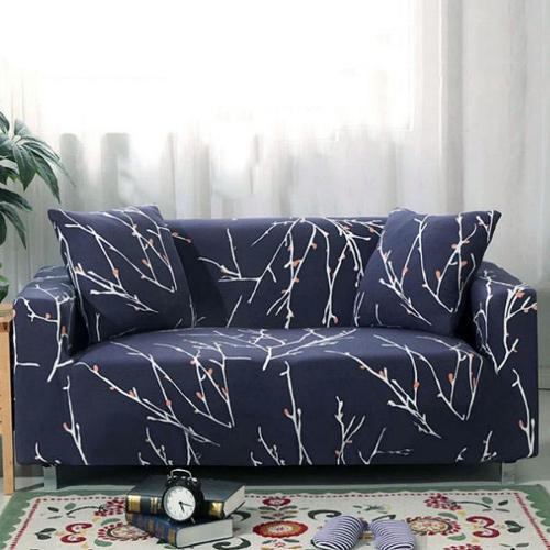 【歐卓拉】冬之旅彈性沙發套-2人座